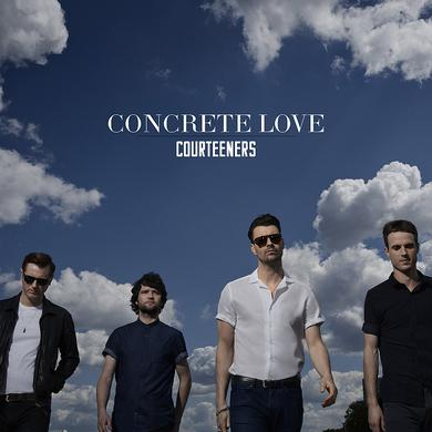 Courteeners Concrete Love CD Album (Signed) CD