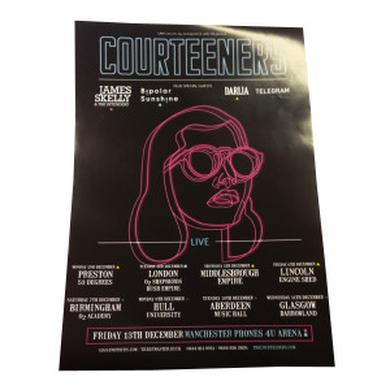 Courteeners Tour Poster
