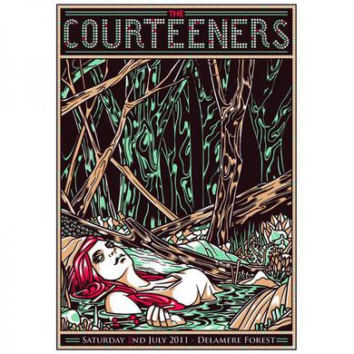 Courteeners Delamere Forest Print