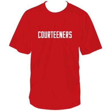 Courteeners Logo Red T-Shirt