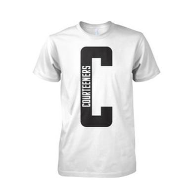 Courteeners Big C White T-Shirt