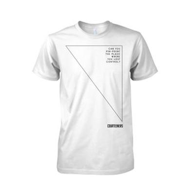 Courteeners Pinpoint Graphic White T-Shirt