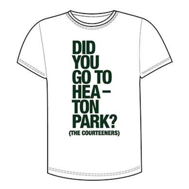 Courteeners Did You... Heaton Park White T-Shirt