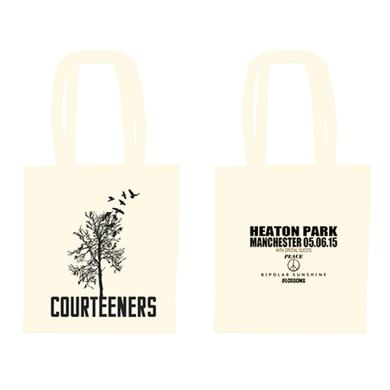 Courteeners Natural Heaton Park Tote Bag