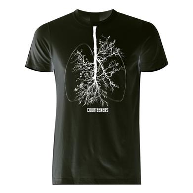 Courteeners Breathe Black T-Shirt