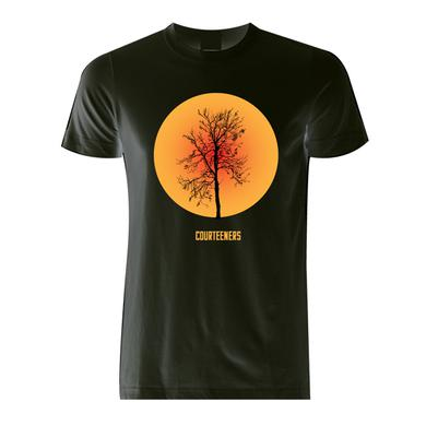 Courteeners Tree T-Shirt (Orange)