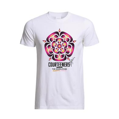 Courteeners Old Trafford 2017 Rose Event T-Shirt