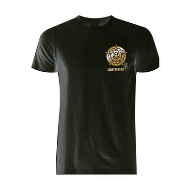 Courteeners Old Trafford 2017 Gold Rose T-Shirt