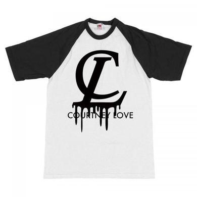 Courtney Love Vuitton Baseball T-Shirt