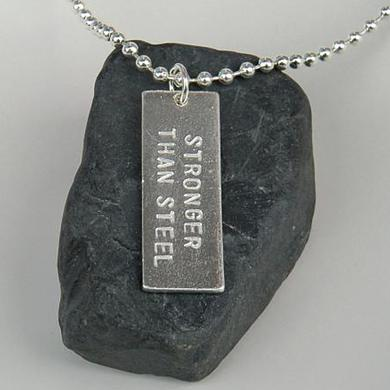 Dan Reed Stronger Than Steel Necklace