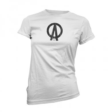 Dave Clarke DC Logo White Womens T-Shirt
