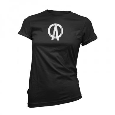 Dave Clarke DC Logo Black Womens T-Shirt