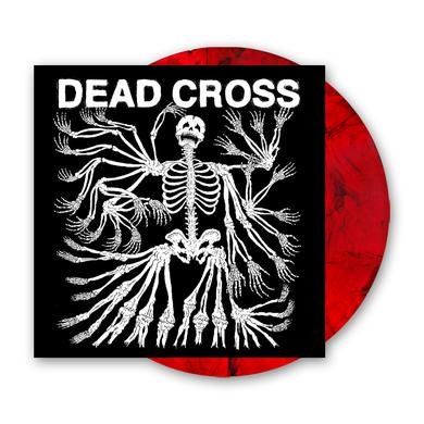 Dead Cross Clear Red/Black Swirl Vinyl LP (with Glow In The Dark Artwork) Heavyweight LP