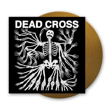 Dead Cross Metallic Gold Vinyl LP (with Glow In The Dark Artwork) Heavyweight LP