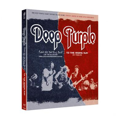 Deep Purple From The Setting Sun (In Wacken)... To The Rising Sun (In Tokyo) 2 x Blu-ray Set Blu-ray
