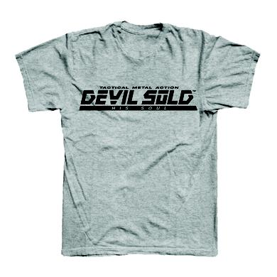 DEVIL SOLD HIS SOUL Metal Gear Grey T-Shirt