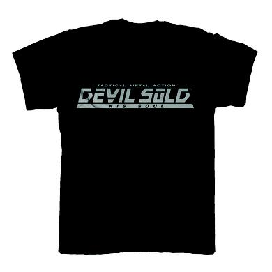 DEVIL SOLD HIS SOUL Metal Gear Black T-Shirt