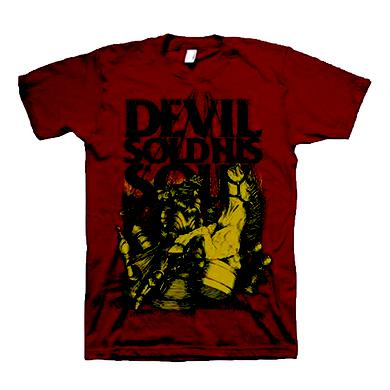 DEVIL SOLD HIS SOUL Chess T-Shirt