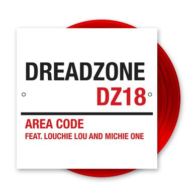 Dreadzone Area Code Feat. Louchie Lou & Michie One 12-Inch Vinyl (Ltd Edition Deep Red Colour) 12 Inch