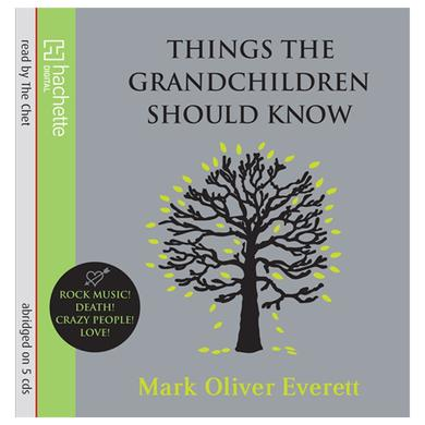 Eels Things The Grandchildren Should Know Audio Book CD
