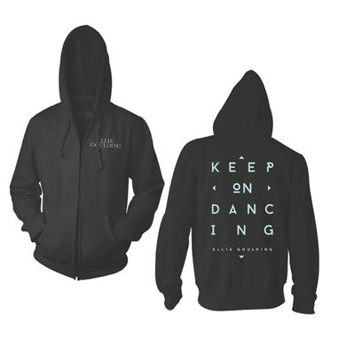 Ellie Goulding Keep On Dancing Zip Hoodie