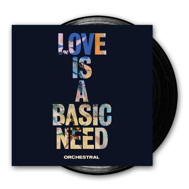 Embrace Love Is A Basic Need: Orchestral Black Vinyl LP (Signed) LP