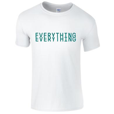 Everything Everything White Logo T-Shirt