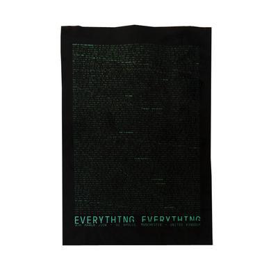 Everything Everything UK Tour Fabric Print