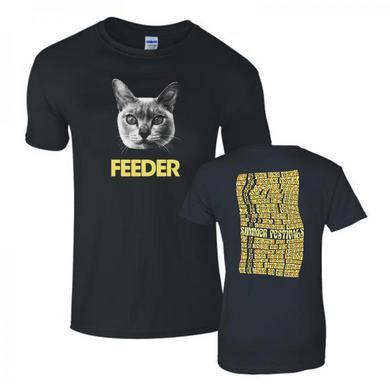 Feeder Exclusive Festival T shirt