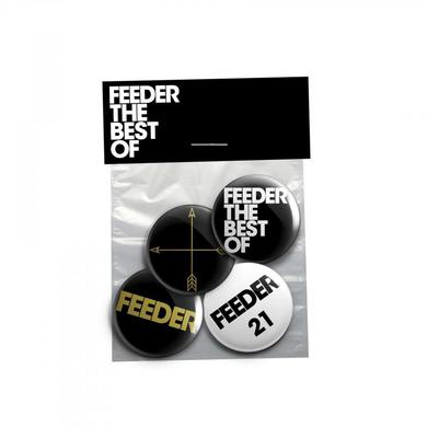 Feeder Best Of Badge Pack