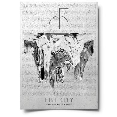Fist City Heavy Matt A2 Poster