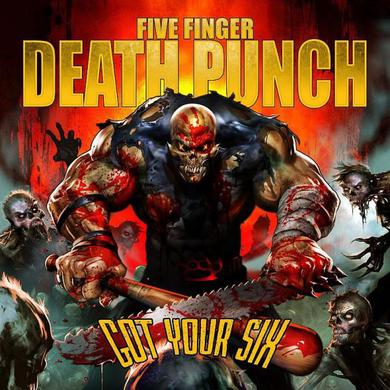 Five Finger Death Punch Got Your Six DigiPak CD Album (First Pressing Only) CD
