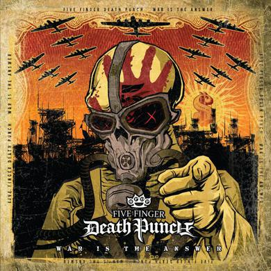 Five Finger Death Punch War Is The Answer ('Beer' Coloured Vinyl) LP
