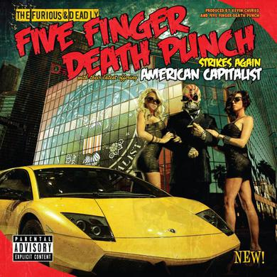 Five Finger Death Punch American Capitalist Vinyl (Swamp Green Coloured) LP