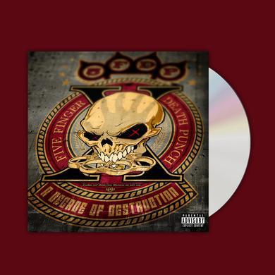 Five Finger Death Punch A Decade Of Destruction CD Album CD