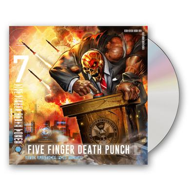 Five Finger Death Punch And Justice For None CD Album (Standard Edition) CD