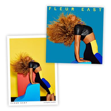 Love, Sax and Flashbacks (CD) with Exclusive Signed Fleur East Photograph CD