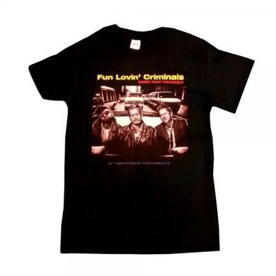 Fun Lovin Criminals Come Find Yourself 20th Anniversary T-Shirt