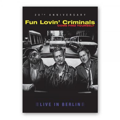 Fun Lovin Criminals Come Find Yourself (Live In Berlin) - 20th Anniversary Ltd Edition DVD DVD