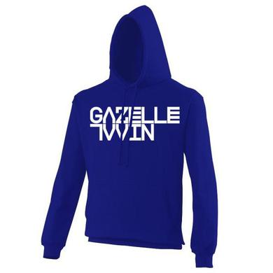 Gazelle Twin Logo Royal Blue Hoody