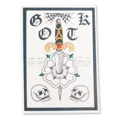 Glamour Of The Kill Limited Edition Print (Dagger)