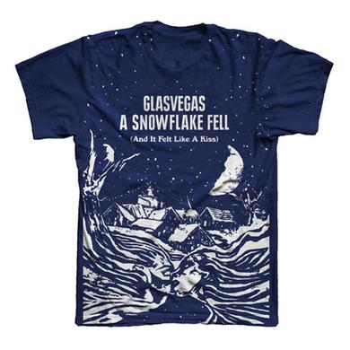 Glasvegas A Snowflake Fell (And It Felt Like A Kiss) EP Cover T-Shirt