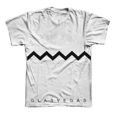 Glasvegas White Chevron T-Shirt