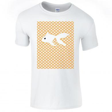 Goldfish Fish Scale Tee White