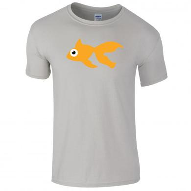 Goldfish Blinky Tee - Orange / Heather Grey