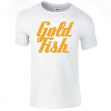 Goldfish Tee - Orange / White