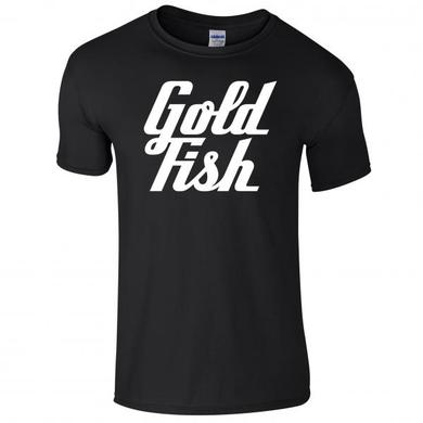 Goldfish Tee - White / Black