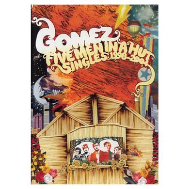 Gomez Five Men In A Hut (Singles 1998-2004) DVD PAL DVD