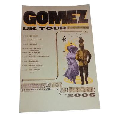 Gomez Summer 2006 Tour Poster