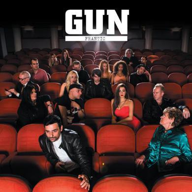 Gun Frantic Vinyl LP Heavyweight LP